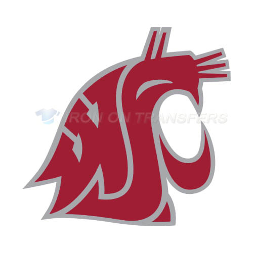 Washington State Cougars Iron-on Stickers (Heat Transfers)NO.6906