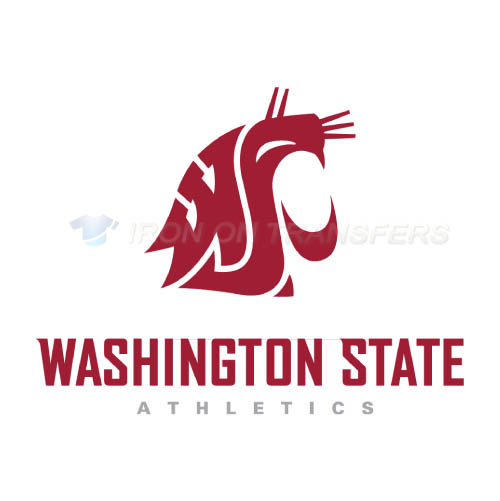 Washington State Cougars Iron-on Stickers (Heat Transfers)NO.6907
