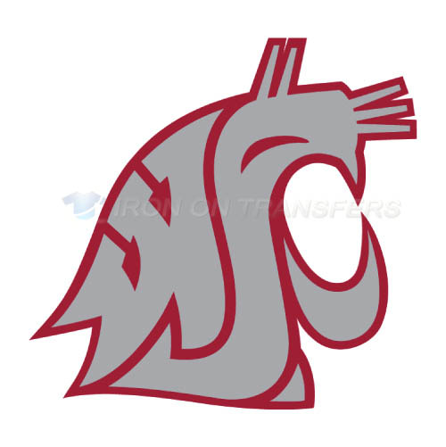 Washington State Cougars Iron-on Stickers (Heat Transfers)NO.6912