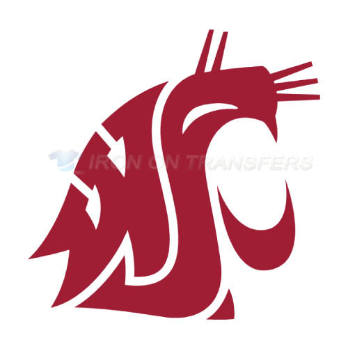 Washington State Cougars Iron-on Stickers (Heat Transfers)NO.6913