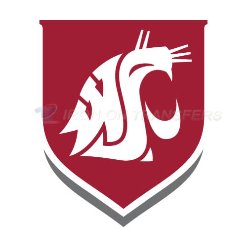 Washington State Cougars Iron-on Stickers (Heat Transfers)NO.6914