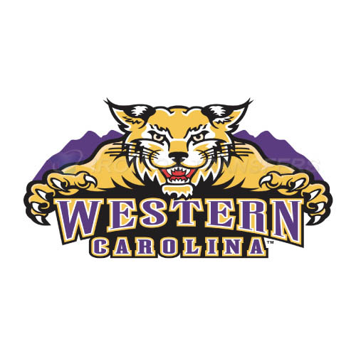 Western Carolina Catamounts Iron-on Stickers (Heat Transfers)NO.6942