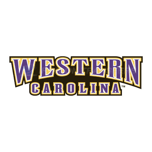Western Carolina Catamounts Iron-on Stickers (Heat Transfers)NO.6951