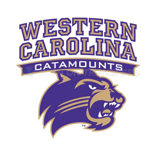 Western Carolina Catamounts Iron-on Stickers (Heat Transfers)NO.6955