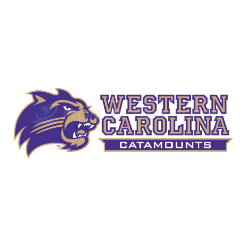 Western Carolina Catamounts Iron-on Stickers (Heat Transfers)NO.6958