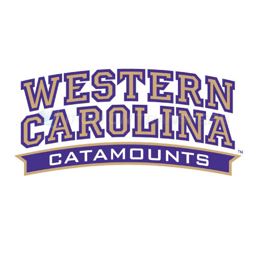 Western Carolina Catamounts Iron-on Stickers (Heat Transfers)NO.6959