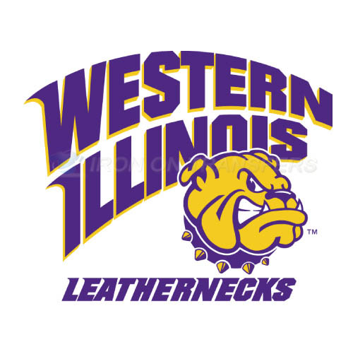 Western Illinois Leathernecks Iron-on Stickers (Heat Transfers)NO.6964