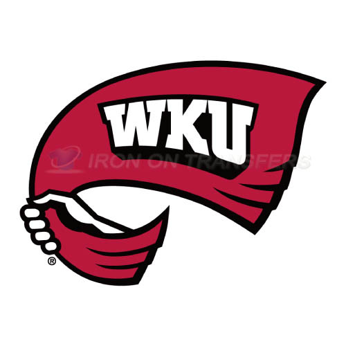 Western Kentucky Hilltoppers Iron-on Stickers (Heat Transfers)NO.6979