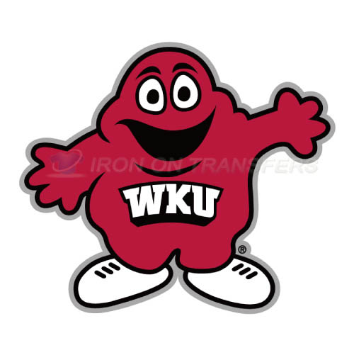 Western Kentucky Hilltoppers Iron-on Stickers (Heat Transfers)NO.6983