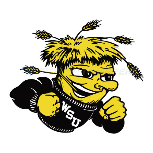 Wichita State Shockers Iron-on Stickers (Heat Transfers)NO.6996