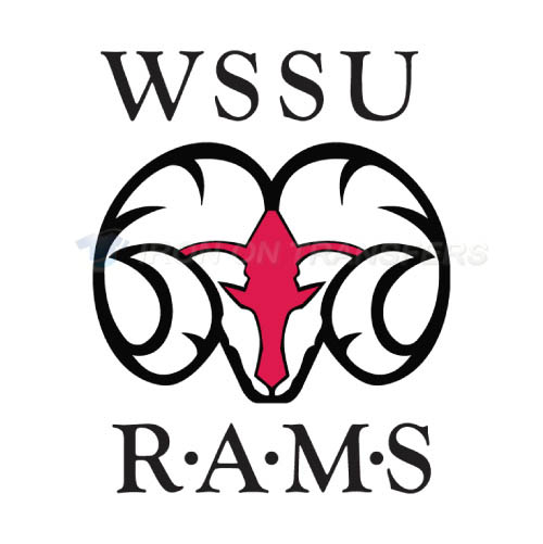 Winston Salem State Rams Iron-on Stickers (Heat Transfers)NO.7009