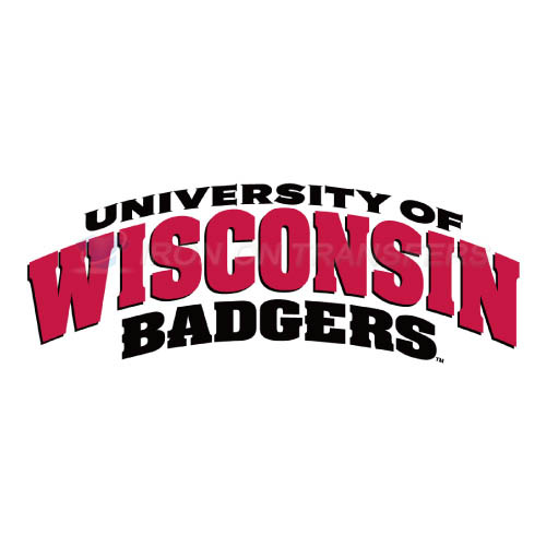 Wisconsin Badgers Iron-on Stickers (Heat Transfers)NO.7023