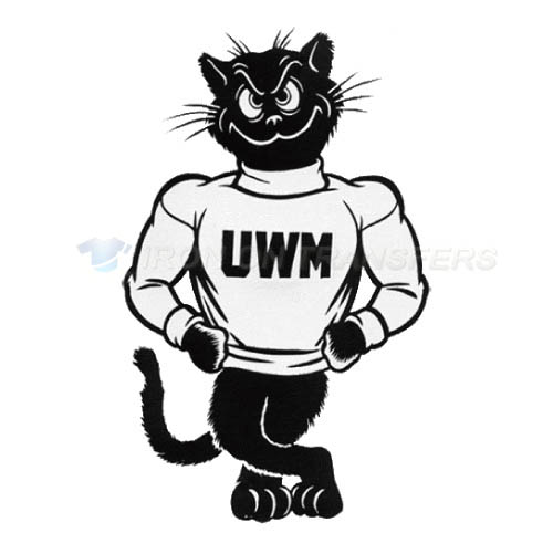 Wisconsin Milwaukee Panthers Iron-on Stickers (Heat Transfers)NO.7044
