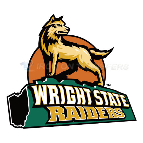 Wright State Raiders Iron-on Stickers (Heat Transfers)NO.7048