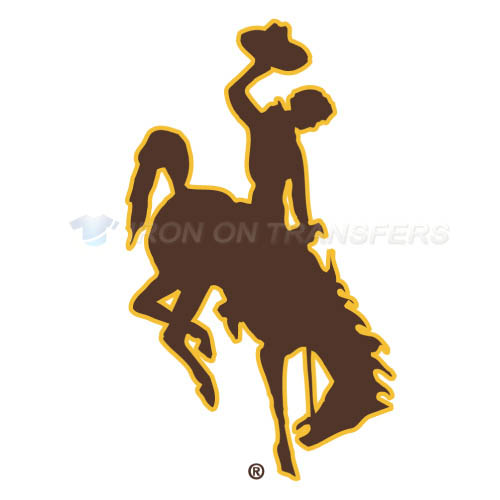 Wyoming Cowboys Iron-on Stickers (Heat Transfers)NO.7058