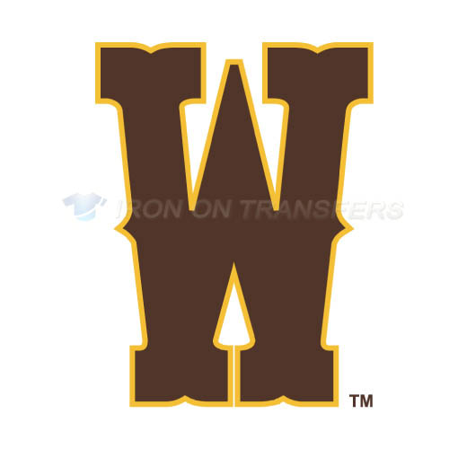 Wyoming Cowboys Iron-on Stickers (Heat Transfers)NO.7065