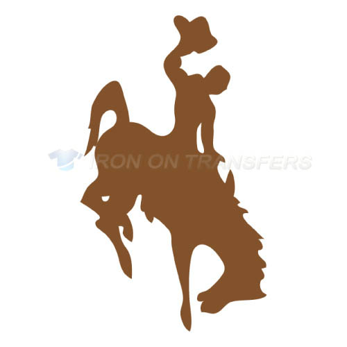 Wyoming Cowboys Iron-on Stickers (Heat Transfers)NO.7067