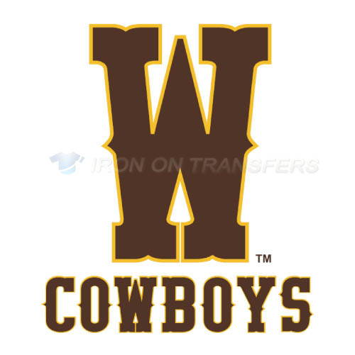 Wyoming Cowboys Iron-on Stickers (Heat Transfers)NO.7068
