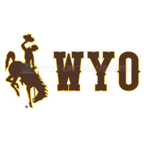 Wyoming Cowboys Iron-on Stickers (Heat Transfers)NO.7069
