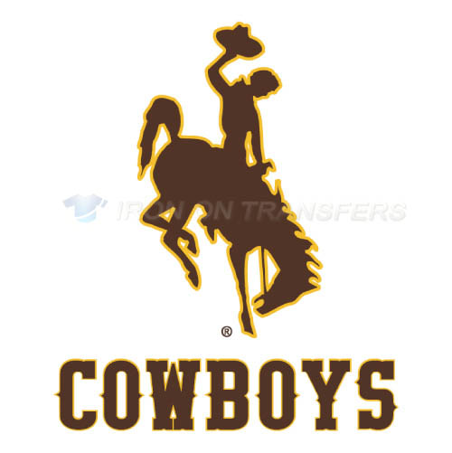 Wyoming Cowboys Iron-on Stickers (Heat Transfers)NO.7070