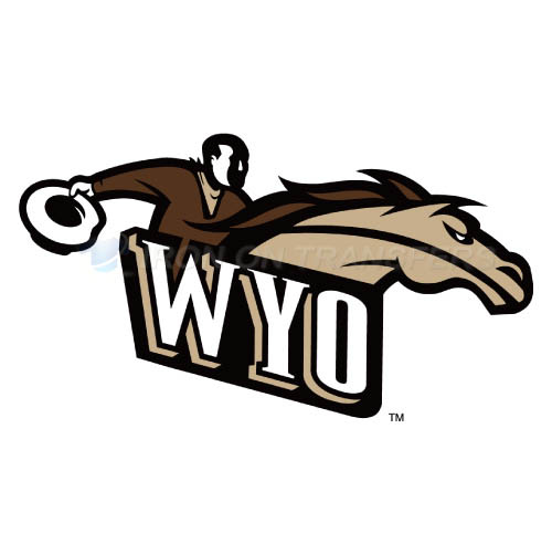 Wyoming Cowboys Iron-on Stickers (Heat Transfers)NO.7072