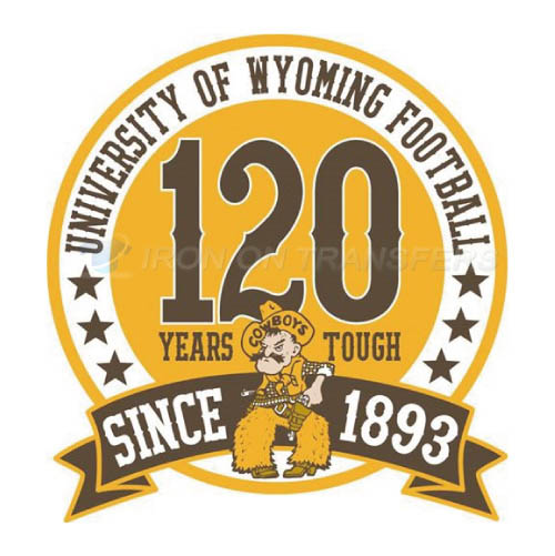 Wyoming Cowboys Iron-on Stickers (Heat Transfers)NO.7073