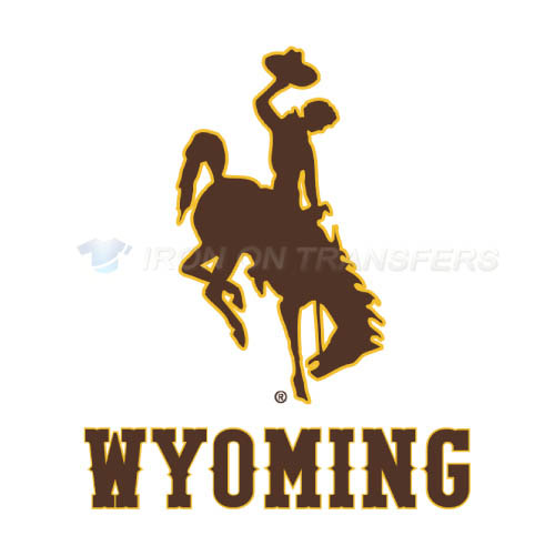 Wyoming Cowboys Iron-on Stickers (Heat Transfers)NO.7074