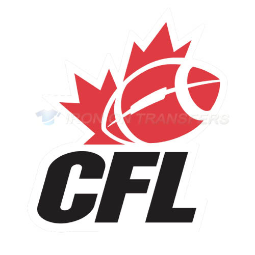 Canadian Football League Iron-on Stickers (Heat Transfers)NO.7645