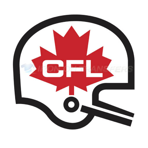 Canadian Football League Iron-on Stickers (Heat Transfers)NO.7646