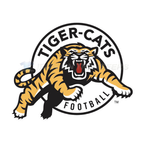 Hamilton Tiger-Cats Iron-on Stickers (Heat Transfers)NO.7597