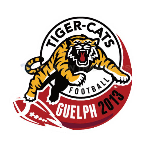 Hamilton Tiger-Cats Iron-on Stickers (Heat Transfers)NO.7598