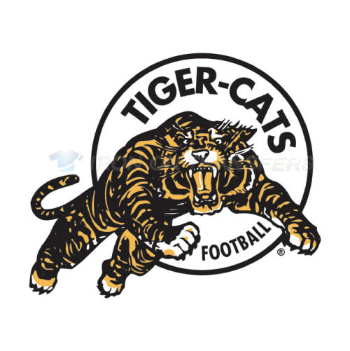 Hamilton Tiger-Cats Iron-on Stickers (Heat Transfers)NO.7599