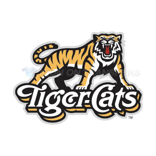 Hamilton Tiger-Cats Iron-on Stickers (Heat Transfers)NO.7600