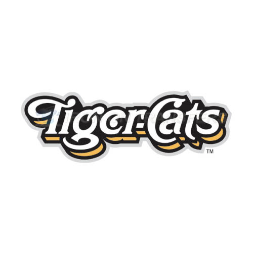 Hamilton Tiger-Cats Iron-on Stickers (Heat Transfers)NO.7601