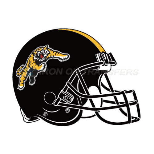 Hamilton Tiger-Cats Iron-on Stickers (Heat Transfers)NO.7605
