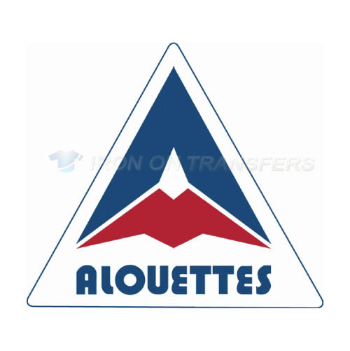 Montreal Alouettes Iron-on Stickers (Heat Transfers)NO.7606