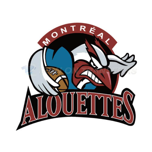 Montreal Alouettes Iron-on Stickers (Heat Transfers)NO.7608