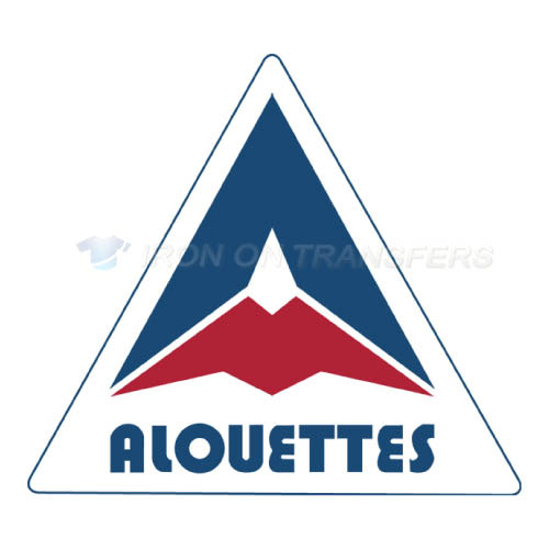 Montreal Alouettes Iron-on Stickers (Heat Transfers)NO.7609