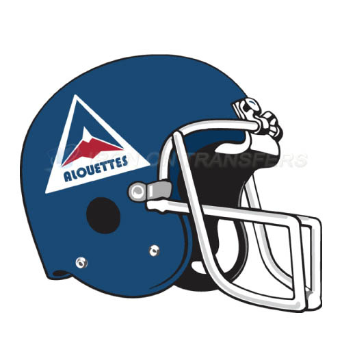 Montreal Alouettes Iron-on Stickers (Heat Transfers)NO.7613