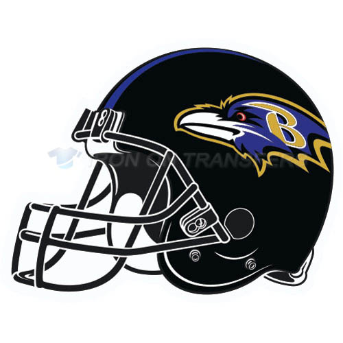Baltimore Ravens Iron-on Stickers (Heat Transfers)NO.427