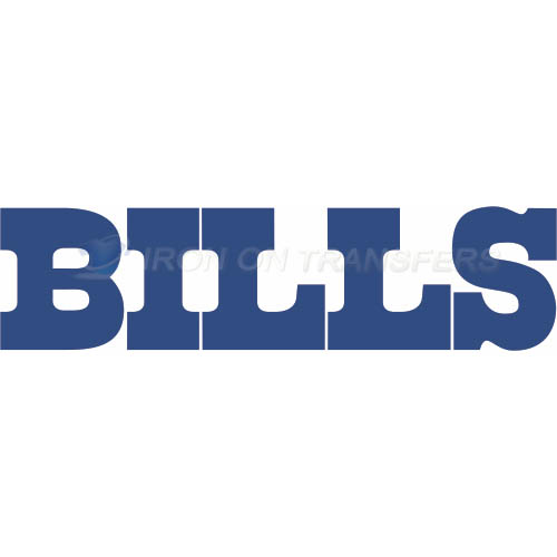 Buffalo Bills Iron-on Stickers (Heat Transfers)NO.430