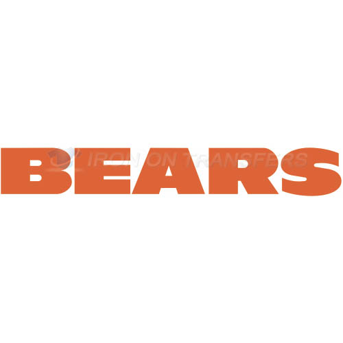 Chicago Bears Iron-on Stickers (Heat Transfers)NO.450