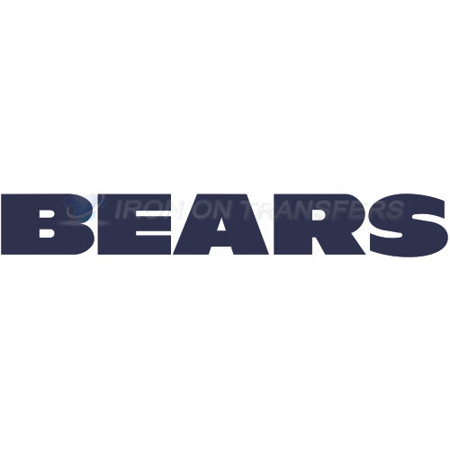 Chicago Bears Iron-on Stickers (Heat Transfers)NO.451