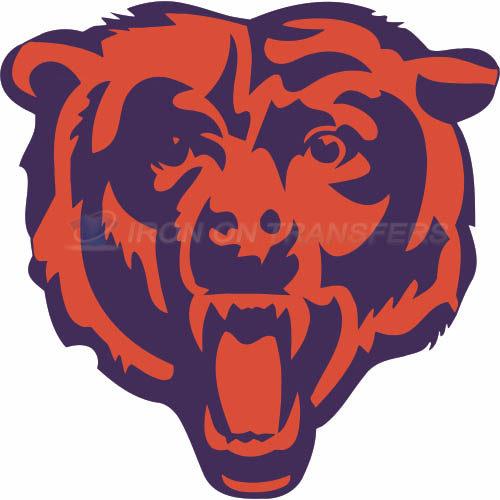 Chicago Bears Iron-on Stickers (Heat Transfers)NO.454