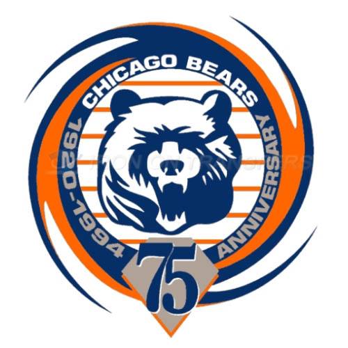 Chicago Bears Iron-on Stickers (Heat Transfers)NO.457