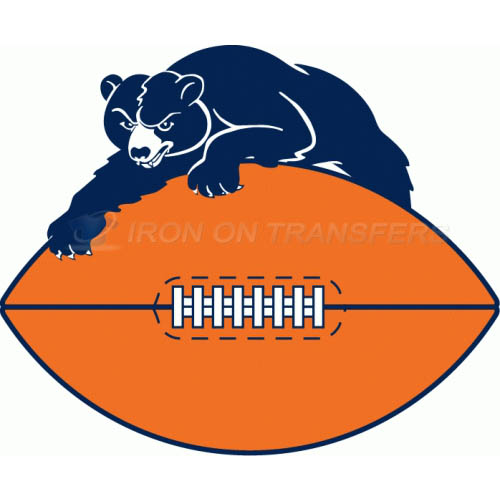 Chicago Bears Iron-on Stickers (Heat Transfers)NO.458