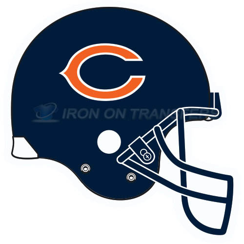 Chicago Bears Iron-on Stickers (Heat Transfers)NO.459