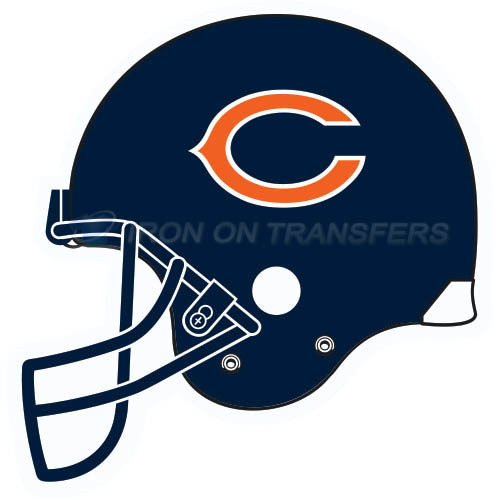 Chicago Bears Iron-on Stickers (Heat Transfers)NO.462