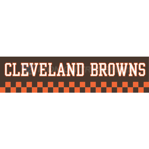 Cleveland Browns Iron-on Stickers (Heat Transfers)NO.485
