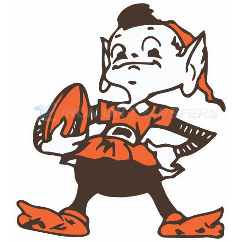 Cleveland Browns Iron-on Stickers (Heat Transfers)NO.487
